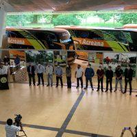 AGEAC participa de entrega de novos ônibus da Empresa Trans Acreana