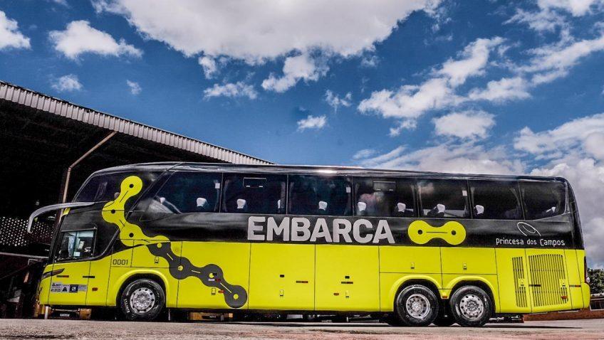 Plataforma de viagem de ônibus aposta em embarque biométrico