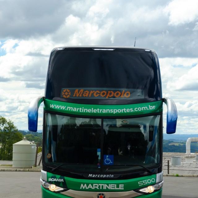 Paradiso DD da Martinele Transportes