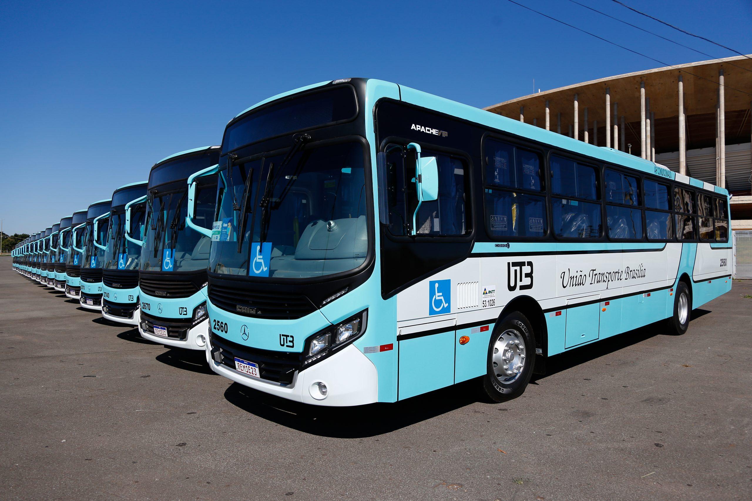 União Transporte Brasília adquire 26 ônibus Mercedes-Benz para renovação de frota