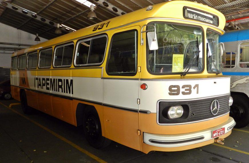 Conheça alguns dos ônibus do museu da Itapemirim
