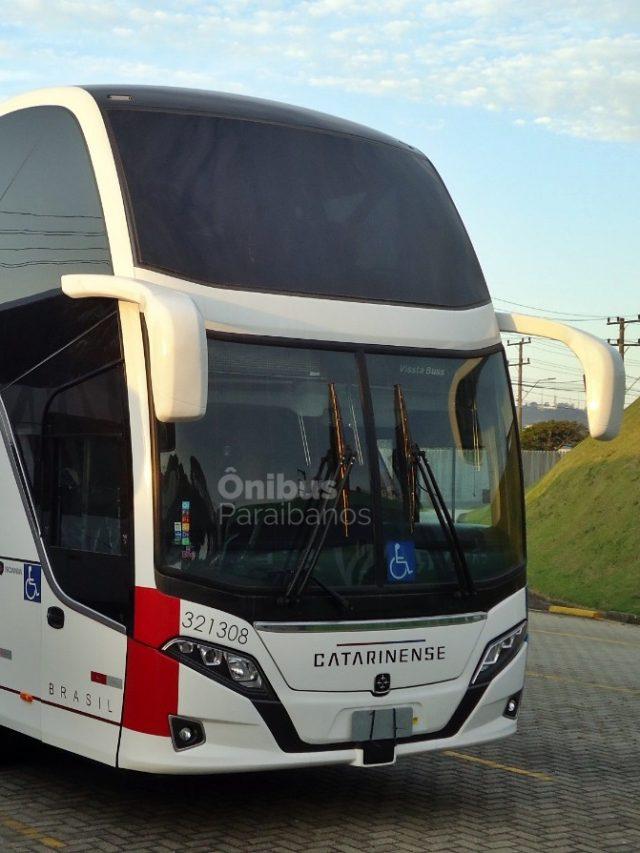 Busscar Vissta Buss DD da Auto Viação Catarinense