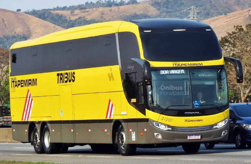 Viação Itapemirim coloca seu novo Tribus na linha São Paulo X Campina Grande