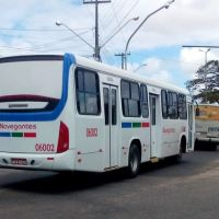 Santa Maria padroniza mais ônibus com a pintura da Navegantes