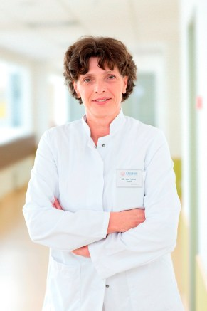 Dr.  med.  Kerstin Lohse, chief physician at the Pediatric Surgery Clinic
