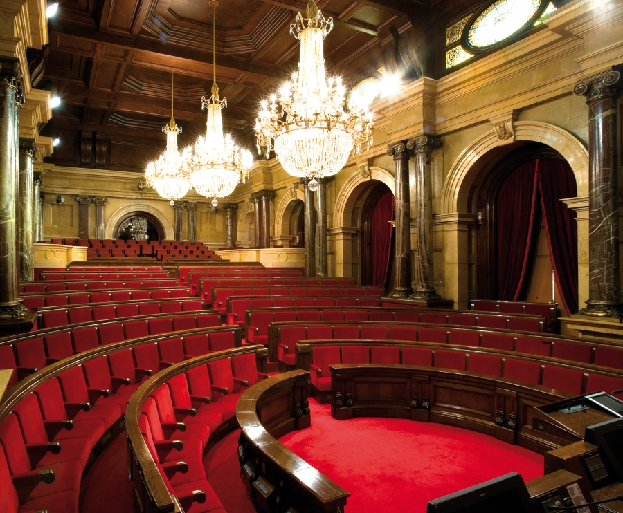 El Parlament, listo para una nueva legislatura.