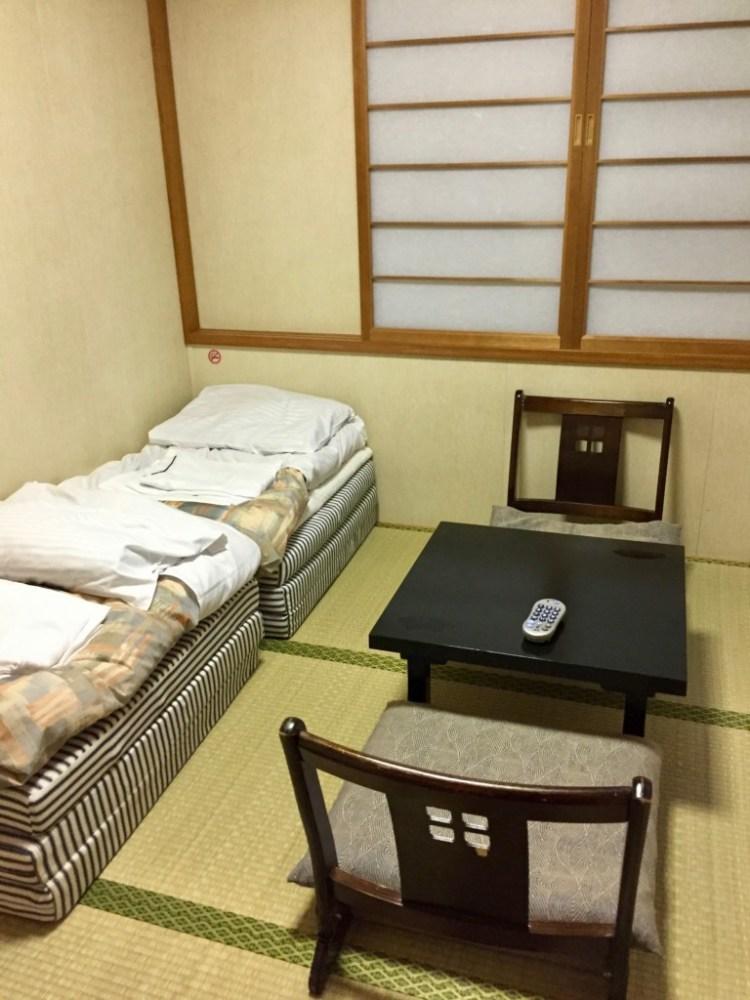 ステートルームB 和室 新日本海フェリー あかしあ はまなす