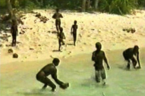 The-indigenous-Sentinelese-tribe