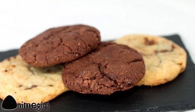 Cookies aux cacahuètes et aux pépites de chocolat