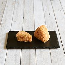 Onigiri aux kimchi-concombre
