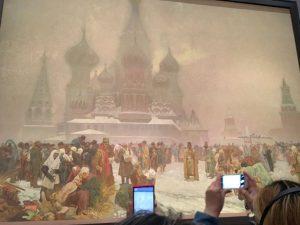 美術館のイベント ミュシャ展