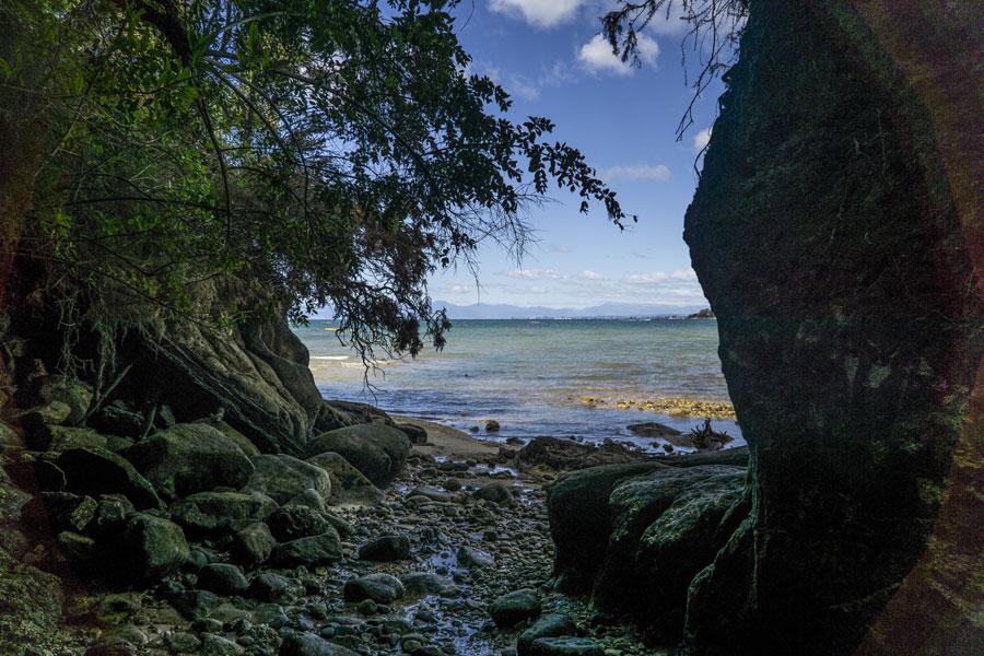 Une randonné à Abel Tasman en Nouvelle Zélande