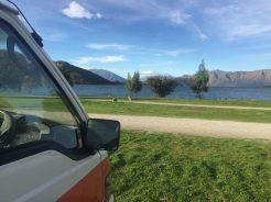 Le camping de Glendhu Bay près de Wanaka