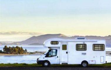 Un grand Camping car en Nouvelle Zélande