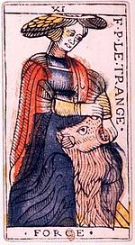 Unconscious does not exist? The Strenght Tarot card