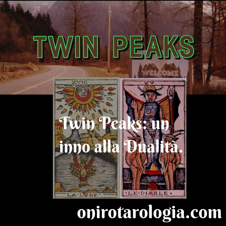 Movies interpreted with Tarot: Jung and David Lynch