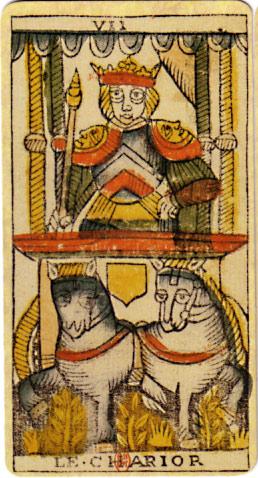 Simbologia del sette nel Carro dei Tarocchi e sognare di perdersi