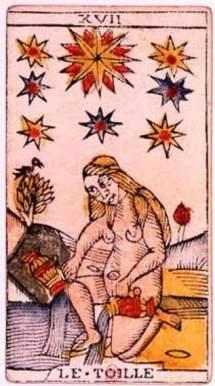Grande Madre e la Stella dei Tarocchi
