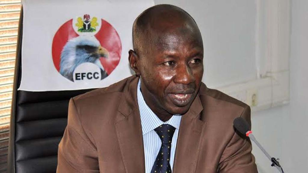 Police deny former EFCC chairman Ibrahim Magu promotion