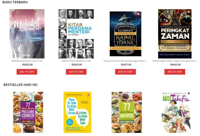 5 Buku Paling popular