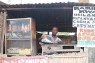 Mr Leonard cooking chips mayai