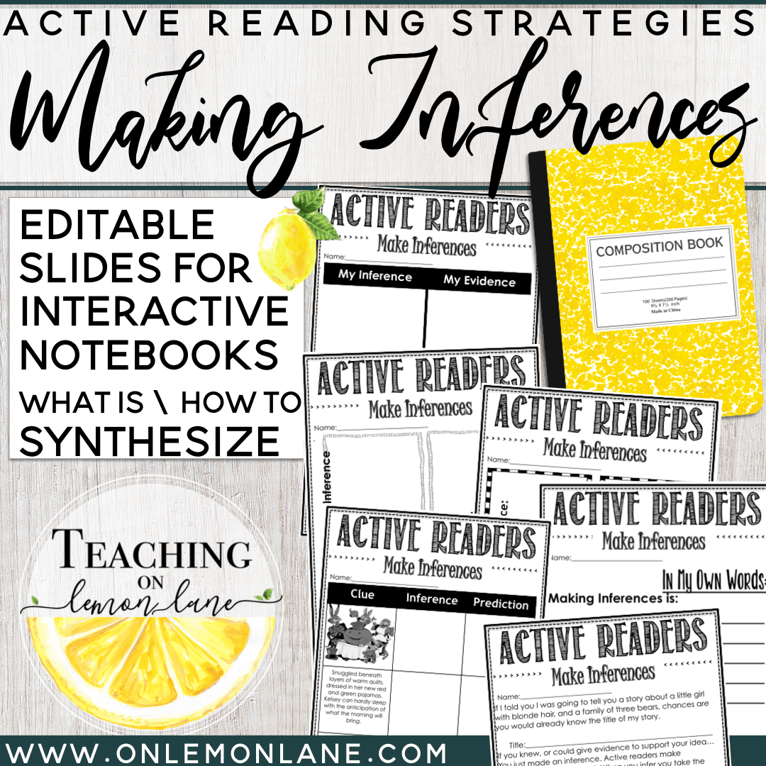 Making Inferences Guided Reading Active Readers Any