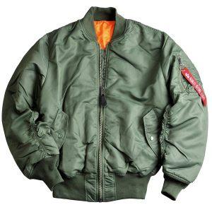 Куртки-бомберы (bomber jacket)