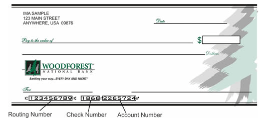 Woodforest Bank Routing Numbers And Wiring Instructions