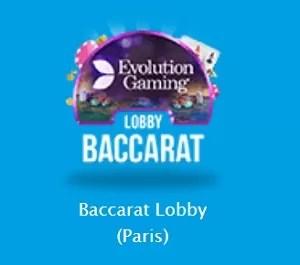 ベラジョン「Baccarat Lobby (Paris)」