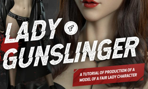WingFox Lady Gunslinger – A tutorial of production of a model of a fair lady character