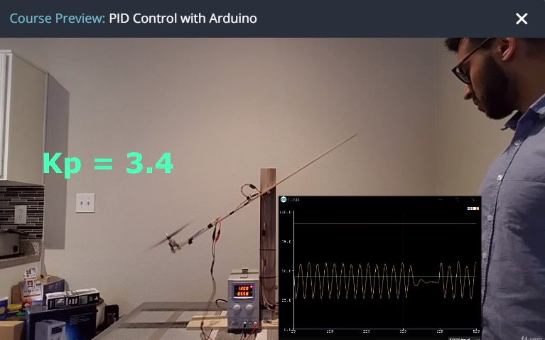 PID Control with Arduino (Free Course) - Online Engineering