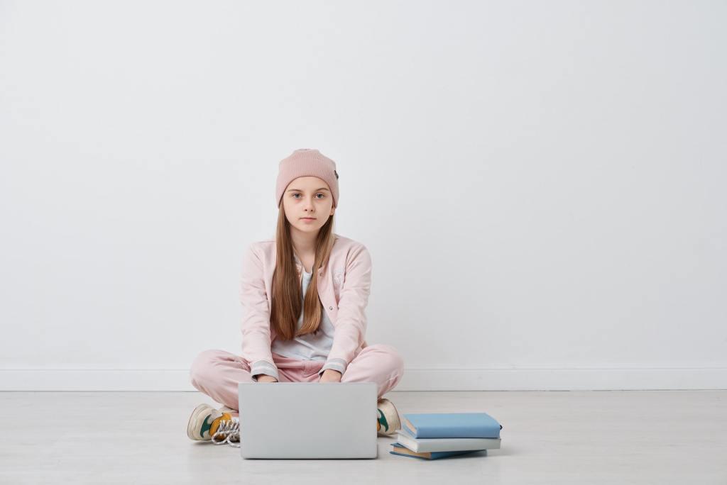 Fernunterricht für Schüler ohne Internetzugang im Jahr 2020