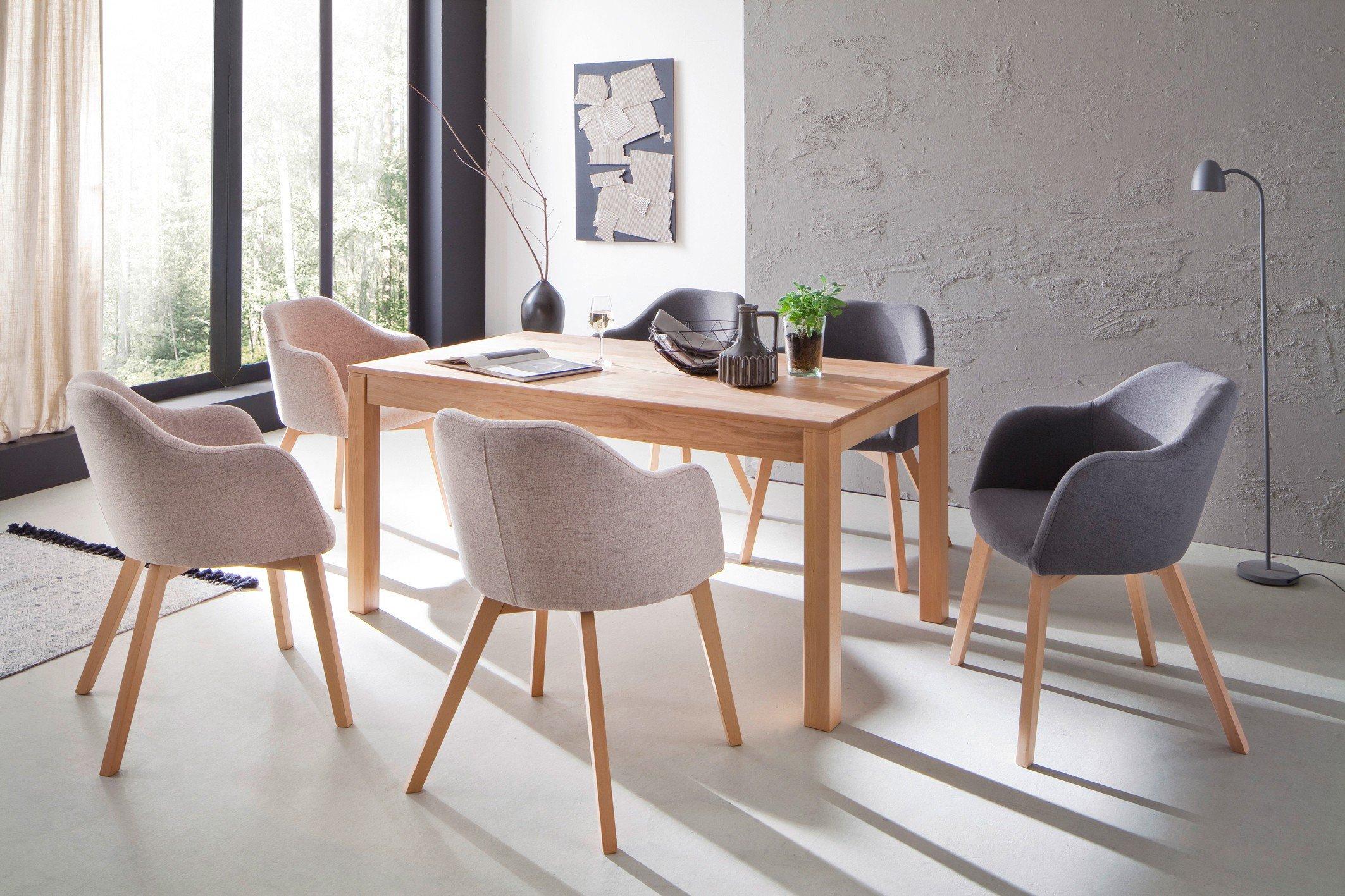 fano von standard furniture esstisch in kernbuche geolt