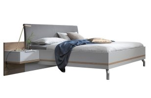 Nolte Doppelbett concept me 500 seidengrau   Möbel Letz ...