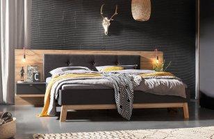 Nolte Cepina Bettanlage Planked Oak weiß   Möbel Letz   Ihr Online Shop