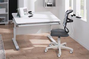 Diego 105 von Paidi   Schreibtisch kreideweiß   Möbel Letz ...
