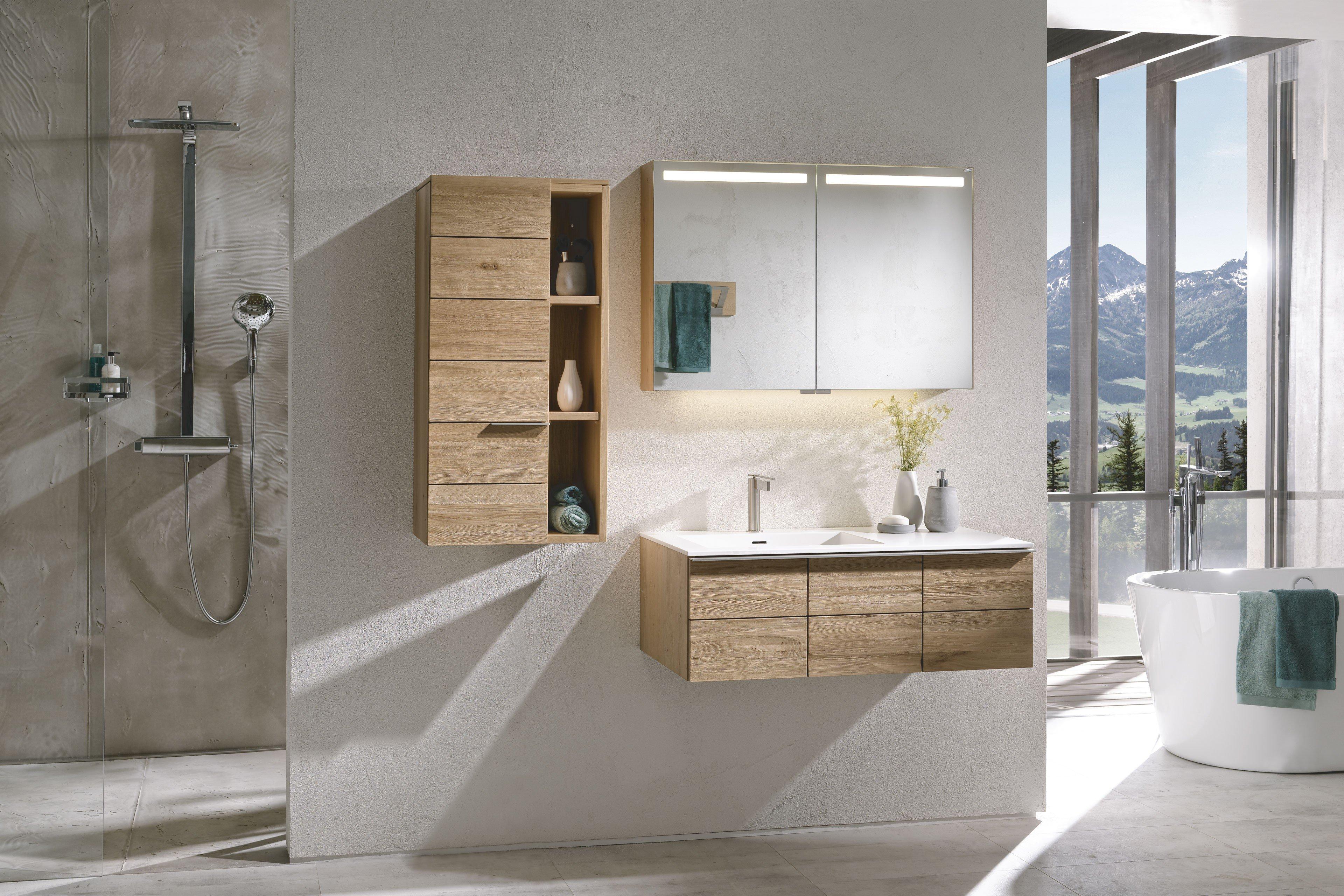 V Montana Badezimmer Von Voglauer In Wildeiche Lackiert Mobel Letz Ihr Online Shop