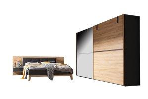 Nolte Cepina Schlafzimmerset Planked oak basalt   Möbel Letz   Ihr Online Shop