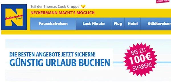 neckermann reisen gutschein 50 euro mallorca