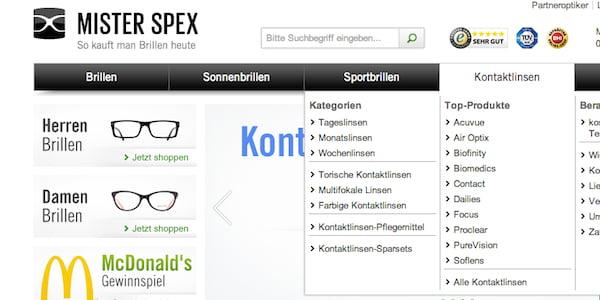 mister spex 8 prozent gutschein