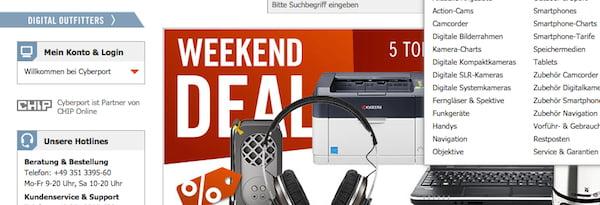 cyberport weekend deals 12.10.