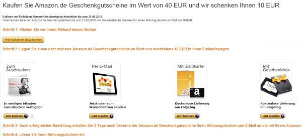 amazon 10 euro gutschein geschenk