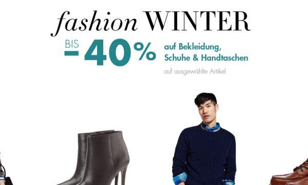 amazon fashion winter 40 prozent rabatt