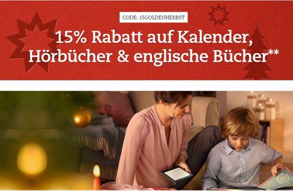thalia 15 prozent gutschein hörbücher