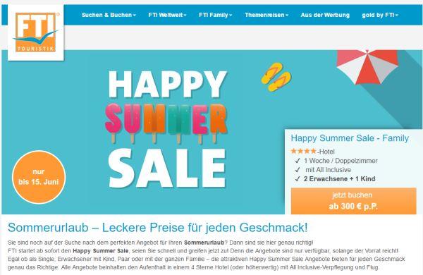 fti happy summer sale