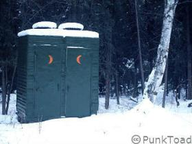 Iced-Outhouses