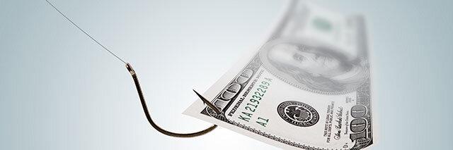 Money-on-a-Hook