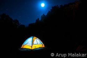 Camping-by-moonlight