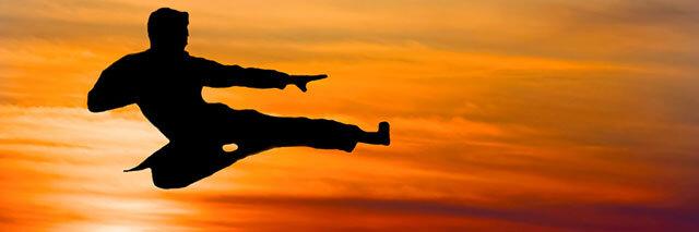 Karate-kick-at-sunrise