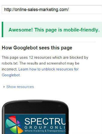Mobile-friendly snapshot